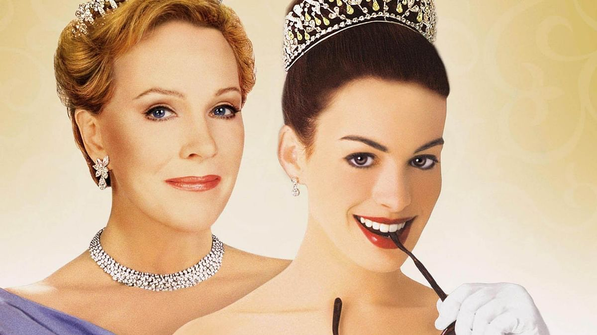 <i>The Princess Diaries,</i> which made a star of Anne Hathaway, also starred Julie Andrews.&nbsp;