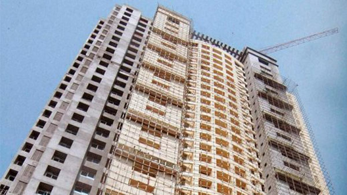 A building of the controversial Adarsh Society. (Photo: PTI)