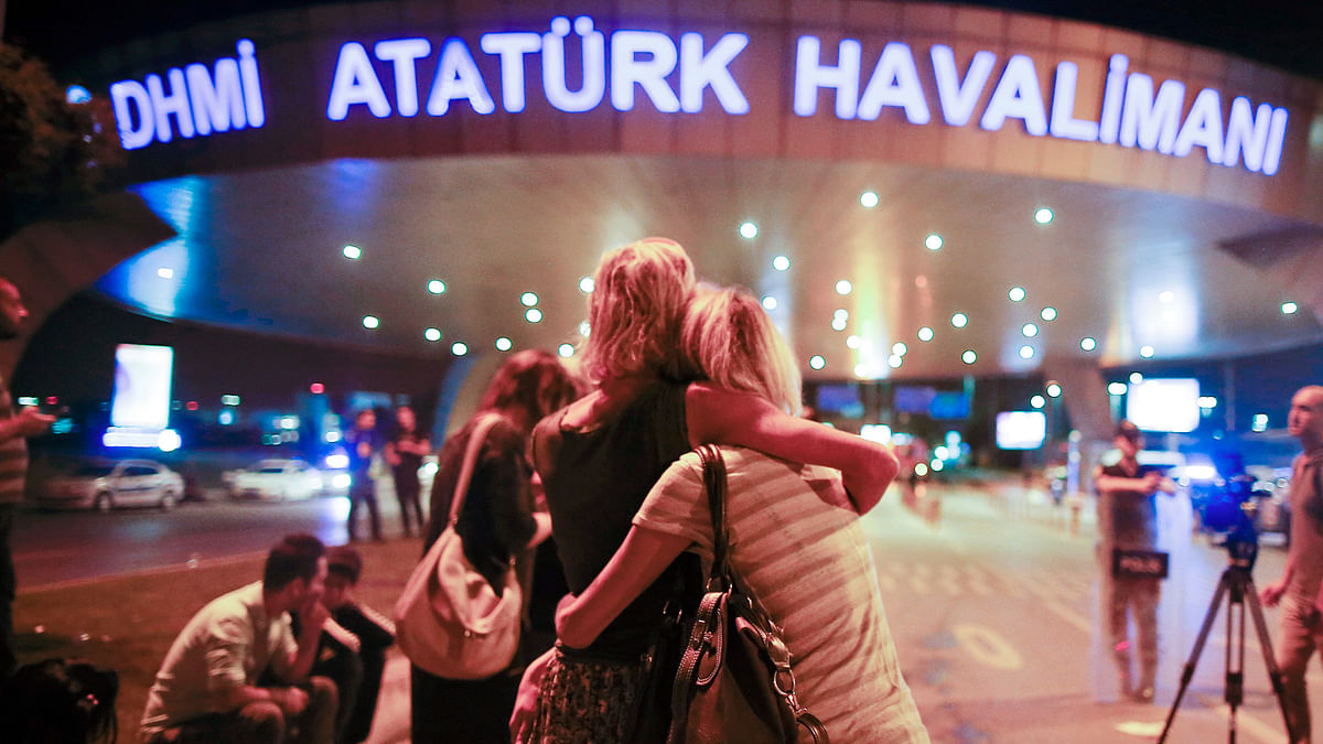 Suicide attacks on Istanbul's Ataturk airport killed 43 and injured over a hundred on Wednesday. (Photo: AP)
