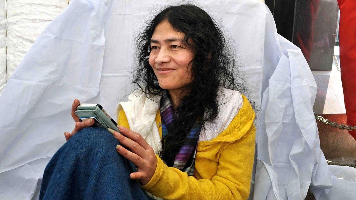 Irom Sharmila. (Photo: Sunzu Bachaspatimayum/<b>The Quint</b>)