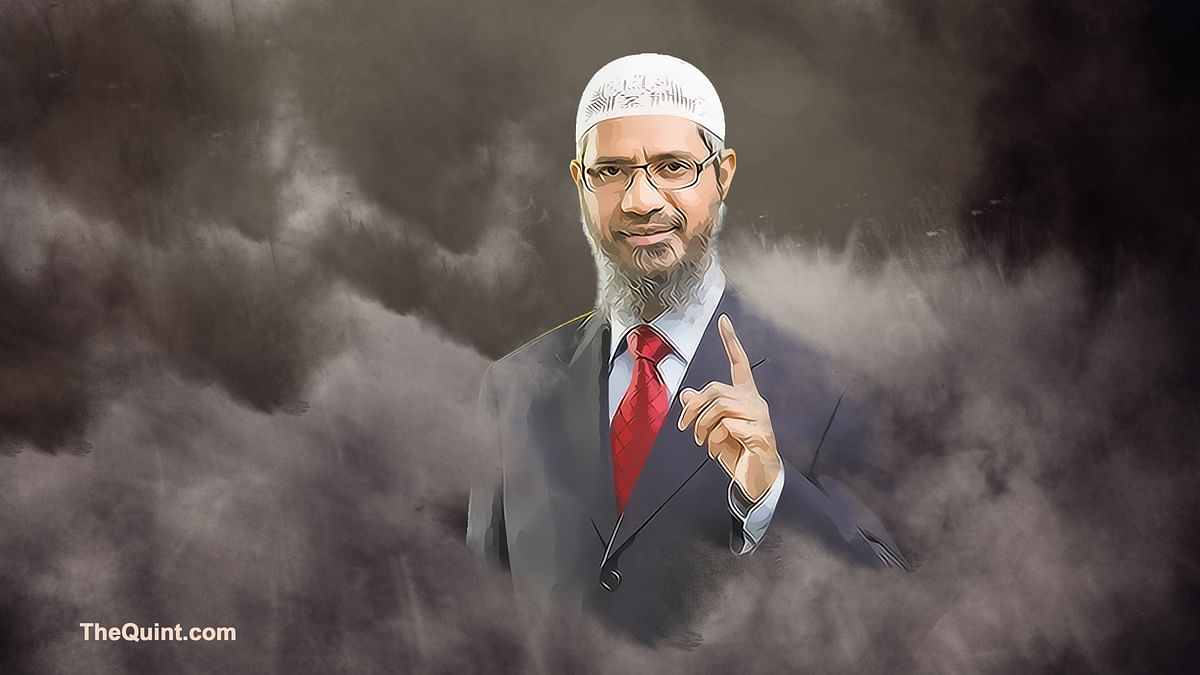 Zakir Naik (Photo: Hardeep Singh/<b>The Quint</b>)