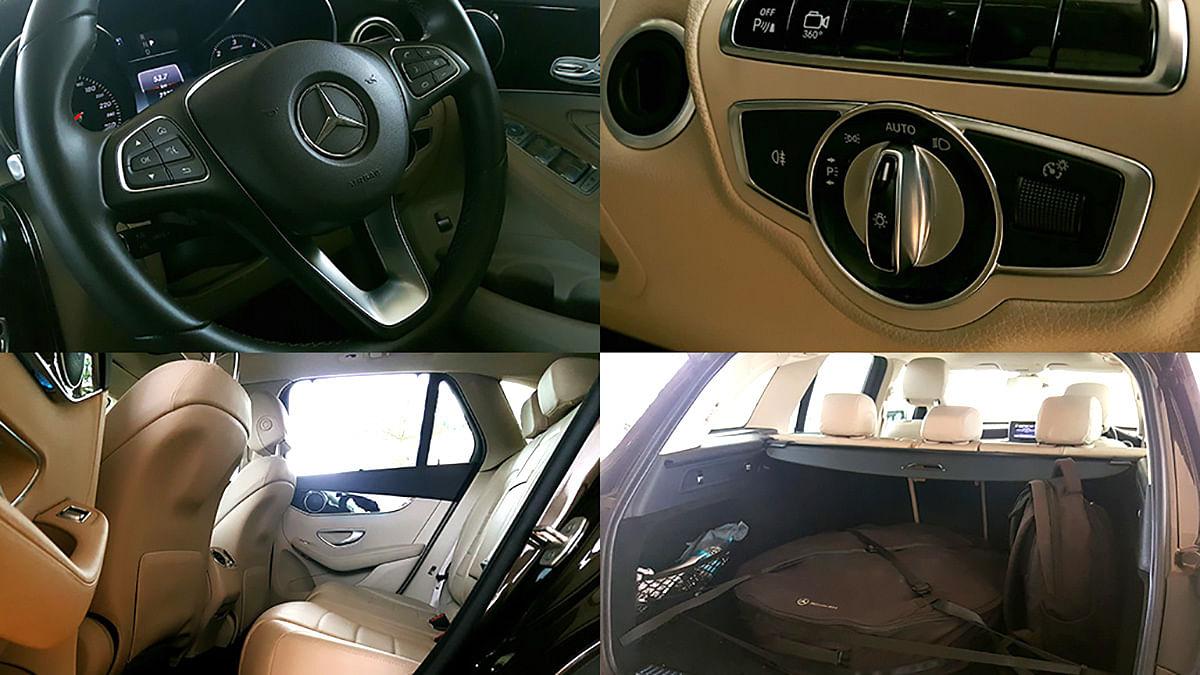 Interiors of the Mercedes-Benz GLC 220d. (Photo: Motorscribes)