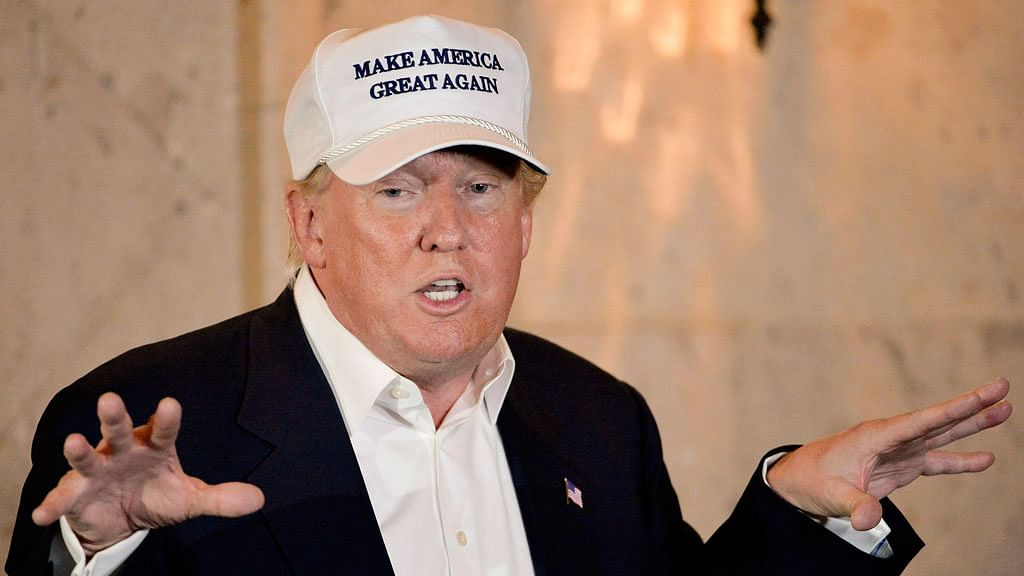 Donald Trump out to 'Make America Great Again'. (Photo: AP)