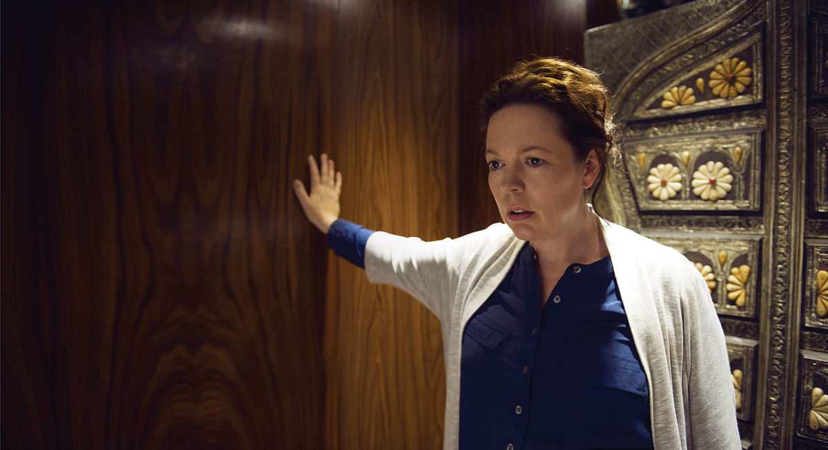 Olivia Colman is running for the Emmys for her portrayal of a British intelligence operative.