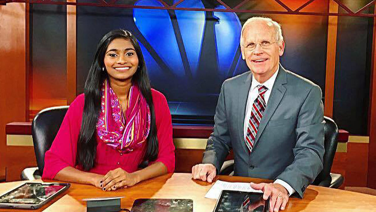 """Sruthi from Cedar Rapids, Iowa is a student at the Harvard University. (Photo: Sruthi Palaniappan's <a href=""""https://www.facebook.com/photo.php?fbid=930941197020350&amp;set=a.240017346112742.52298.100003134341648&amp;type=3&amp;theater"""">facebook</a> page)"""