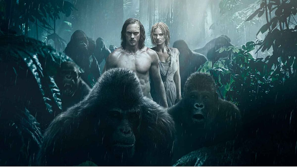 """The movie fails to find it's purpose and maintain the iconic character of Tarzan. (Photo Courtesy:<a href=""""http://http://wbpsites.com/tarzanadventure/us/tumblr/assets/images/backgrounds/art-v3-background.jpg""""> legendoftarzan.com)</a>"""
