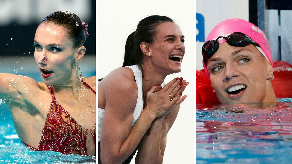 The IOC is currently 'exploring legal options' for banning Russia from the Games. (Photos: AP)