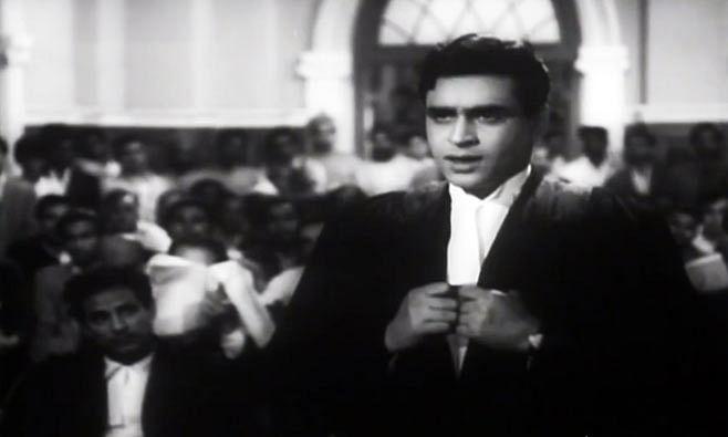 Rajendra Kumar in <i>Kanoon.</i>