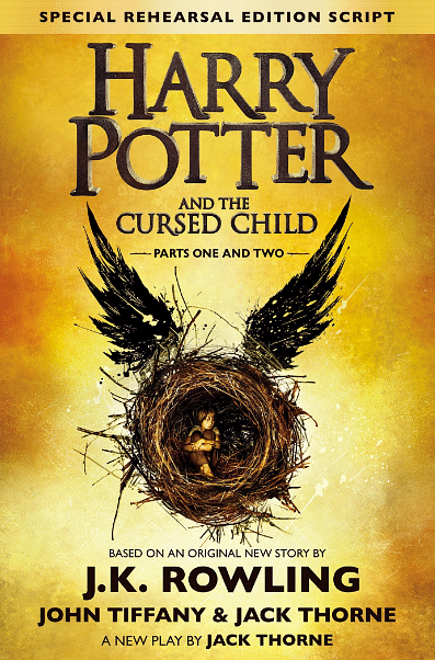 <i>Harry Potter and The Cursed Child, Parts I and II </i>is a special rehearsal edition – or book edition – of a play (Photo Courtesy: Wikimedia Commons)