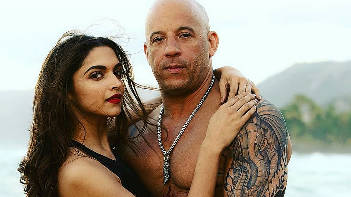 Deepika Padukone and Vin Diesel in <i>XXX: The Return Of Xander Cage.</i>
