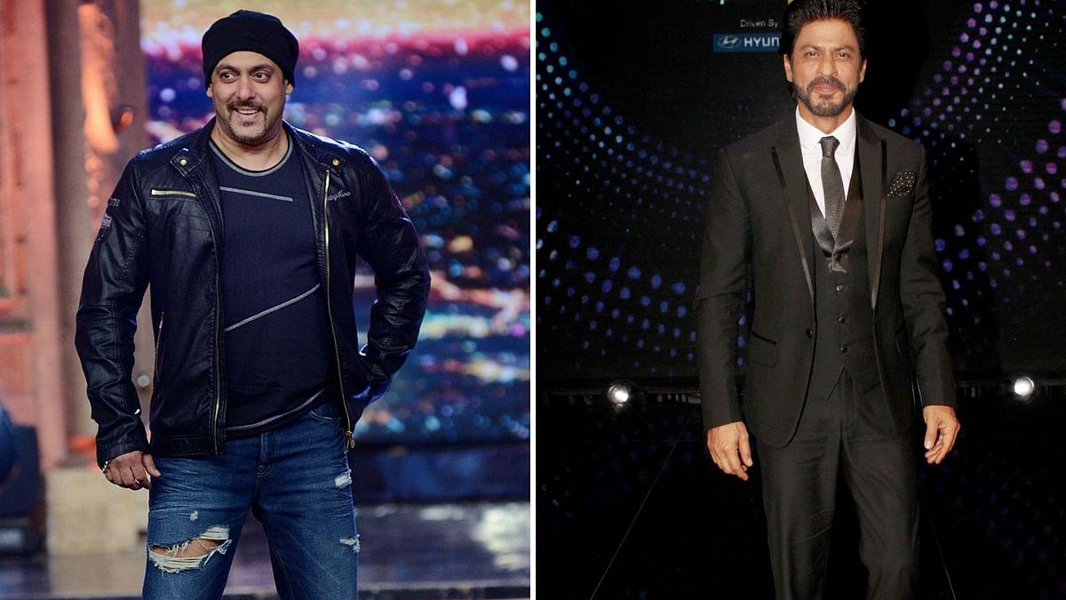 Shah Rukh Khan avoids commenting on Salman Khan's 'raped' woman comment. (Photo: Yogen Shah)
