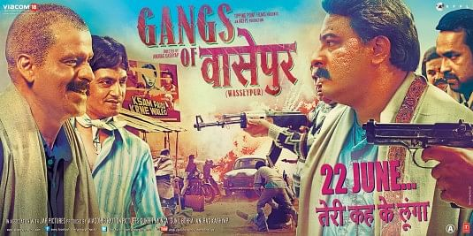 Poster, <i>Gangs Of Wasseypur</i>. (Photo Courtesy: Viacom 18 Motion Pictures)