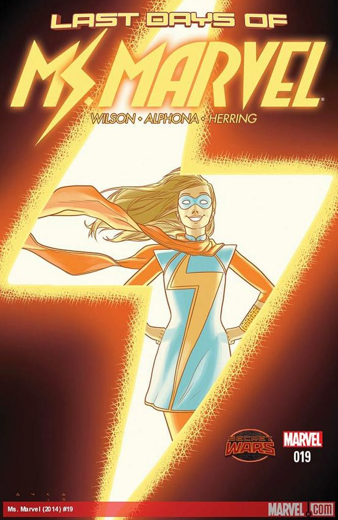 "Cover of Miss Marvel in 2014. (Photo Courtesy: <a href=""http://marvel.com/images/1006716#0-1006716"">Marvel website</a>)"