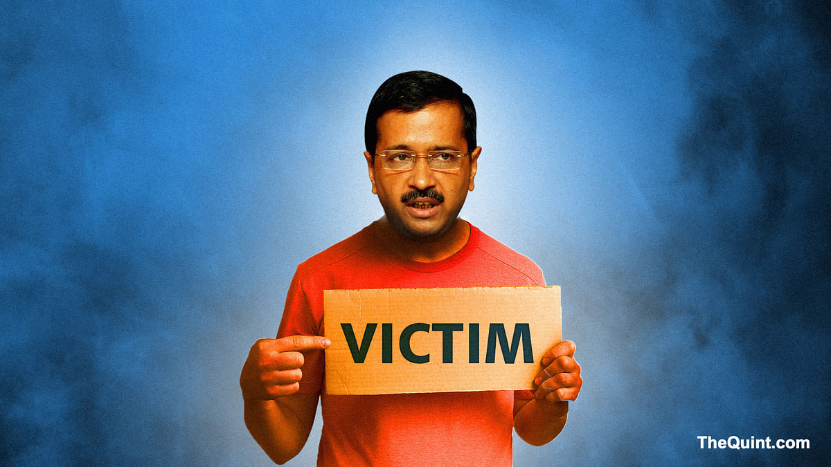 Is the victim card working for Arvind Kejriwal? (Image: <b>The Quint</b>/Hardeep Singh)