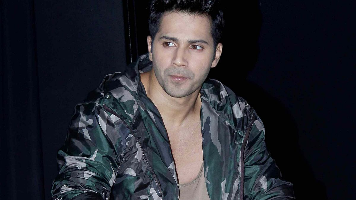 Varun Dhawan at a promotional event of <i>Dishoom.</i> (Photo: Yogen Shah)