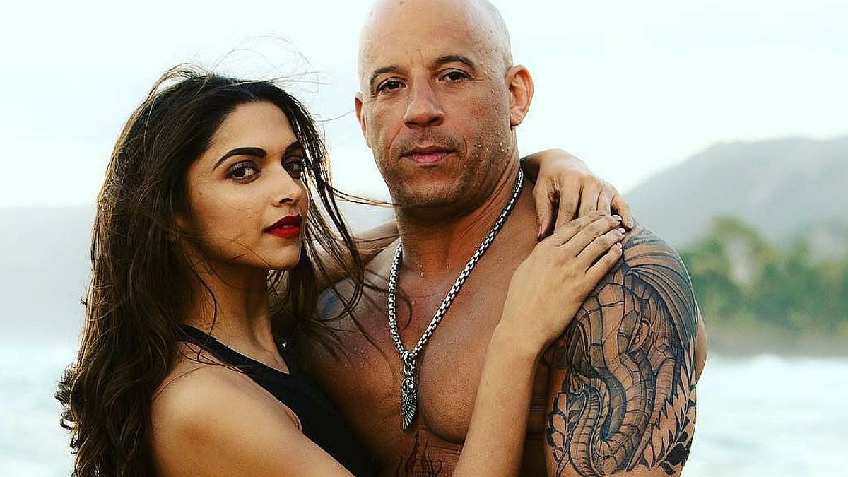 Deepika Padukone and Vin Diesel in a still from the film.