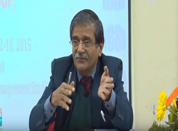"Justice (retd.) Shiv Narain Dhingra (Photo Courtesy: YouTube/<a href=""https://www.youtube.com/watch?v=vKWOaU1MpzA"">The Institute of Company Secretaries of India</a>)"