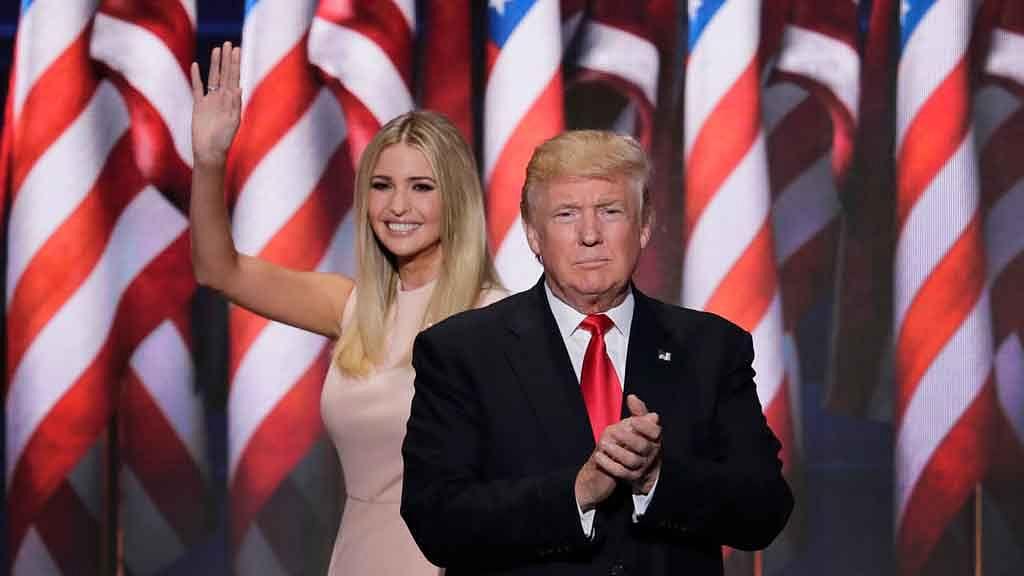 Ivanka Trump, daughter of US President Donald Trump. (Photo: AP)