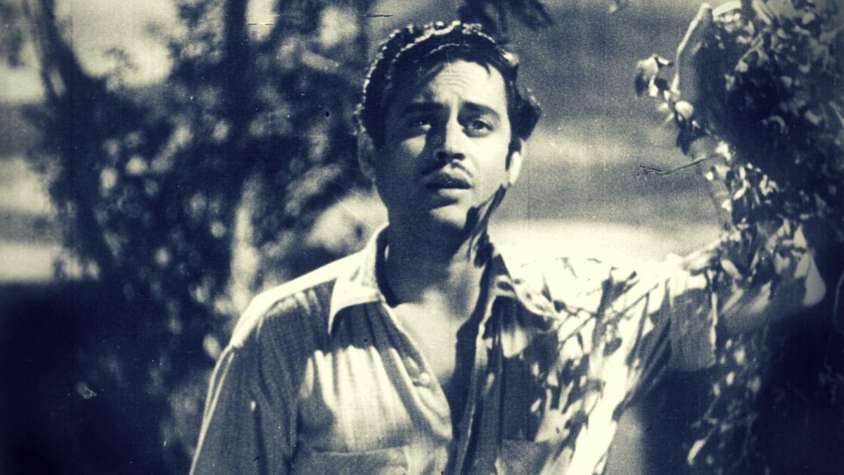 Guru Dutt in a scene from <i>Mr and Mrs 55.</i>