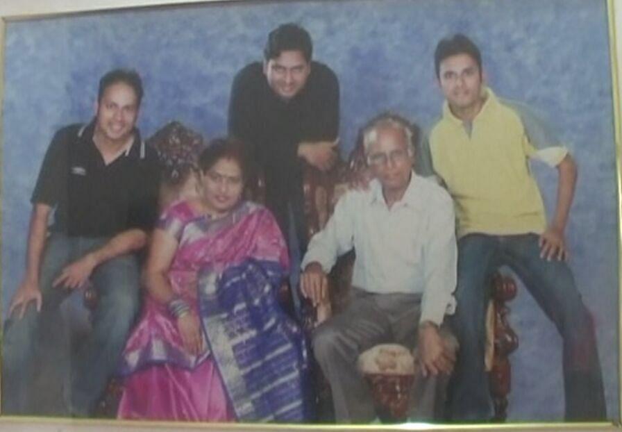 The Gavai family in happier times. (Photo courtesy: Praful Vhatkar)