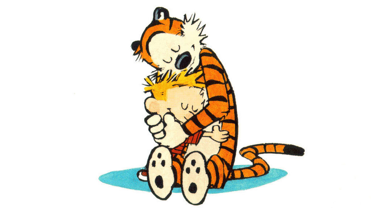 The iconic Calvin & Hobbes has been turned into an interactive 3D comic strip. (Photo: Wikipedia)