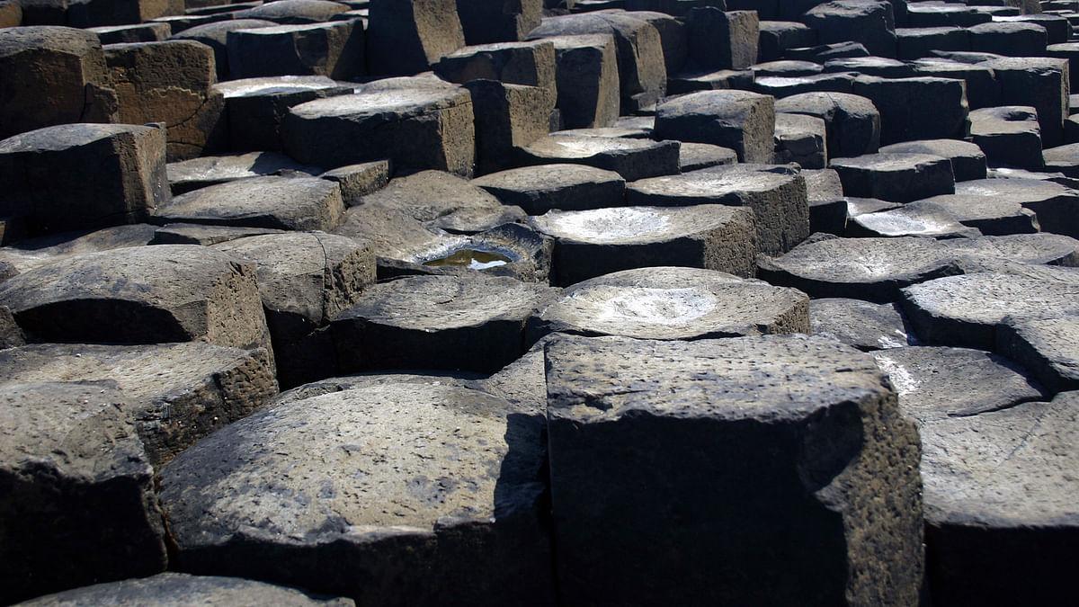 Basalt lava columns. (Photo: iStock)