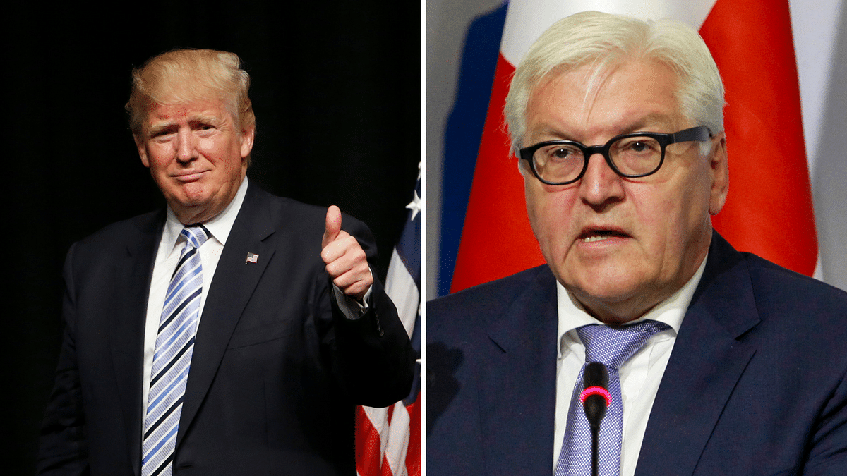 """German Foreign Minister Frank-Walter Steinmeier said that he's worried about Trump's ambiguous vows to """"make America strong again"""". (Photo: AP)"""