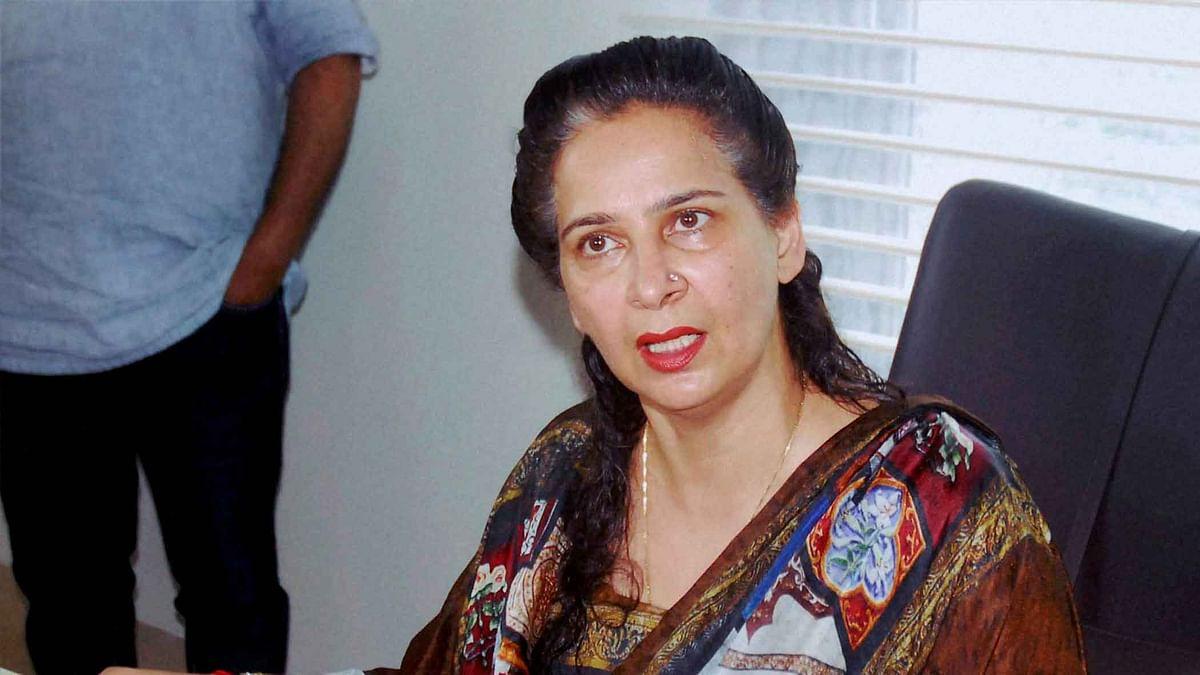 File image of Navjot Kaur Sidhu.