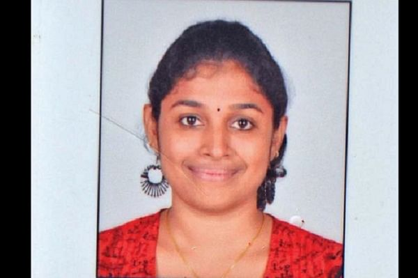 S Swathi, the Infosys employee who was hacked to death at a local train station in Chennai. (Photo Courtesy: <i>The News Minute</i>)