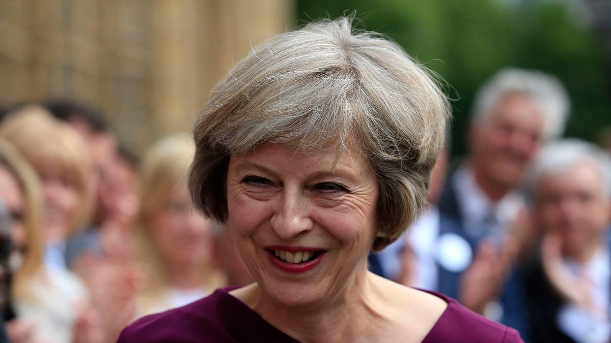 File photo of Theresa May.