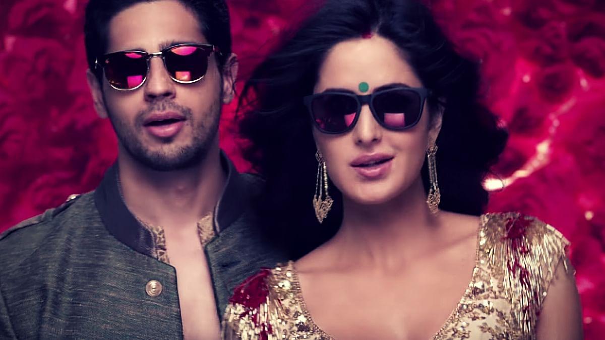 Sidharth Malhotra and Katrina Kaif rock the <i>Kala Chashma</i> look. (Photo Courtesy: YouTube sceengrab)