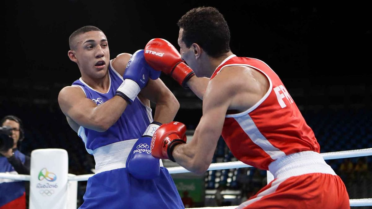 Teofimo Lopez from Honduras launched an angry tirade at boxing authorities after he exited the Rio Olympics. (Photo: AP)