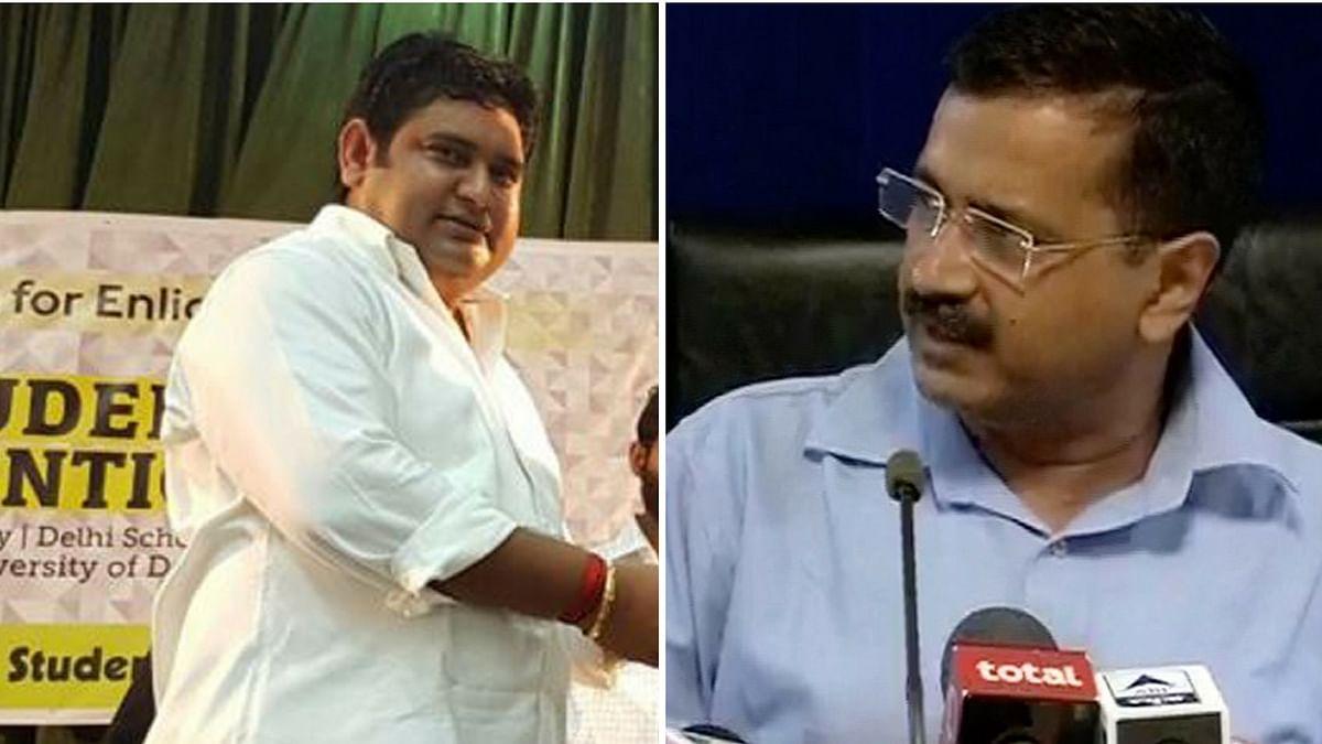 Delhi Chief Minister Arvind Kejriwal sacked Sandeep Kumar over an alleged sex tape. (Photo: <b>The Quint</b>)