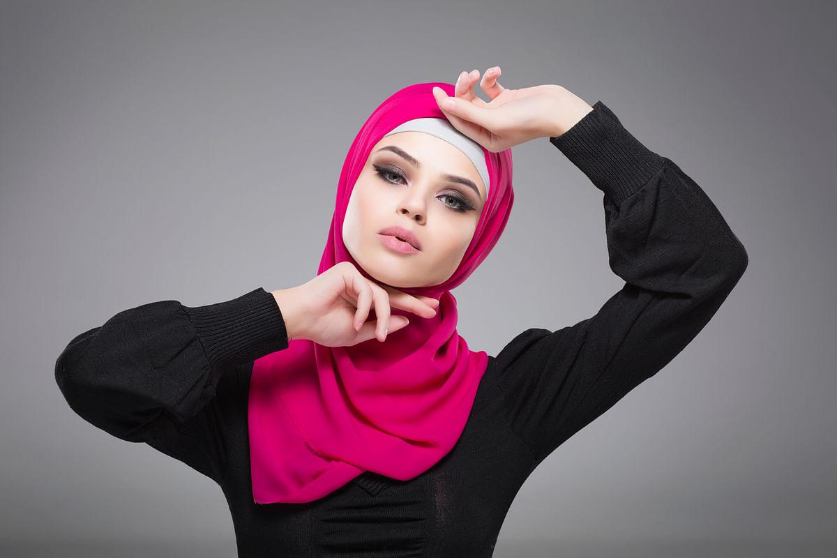Representational image of a woman wearing a hijab.