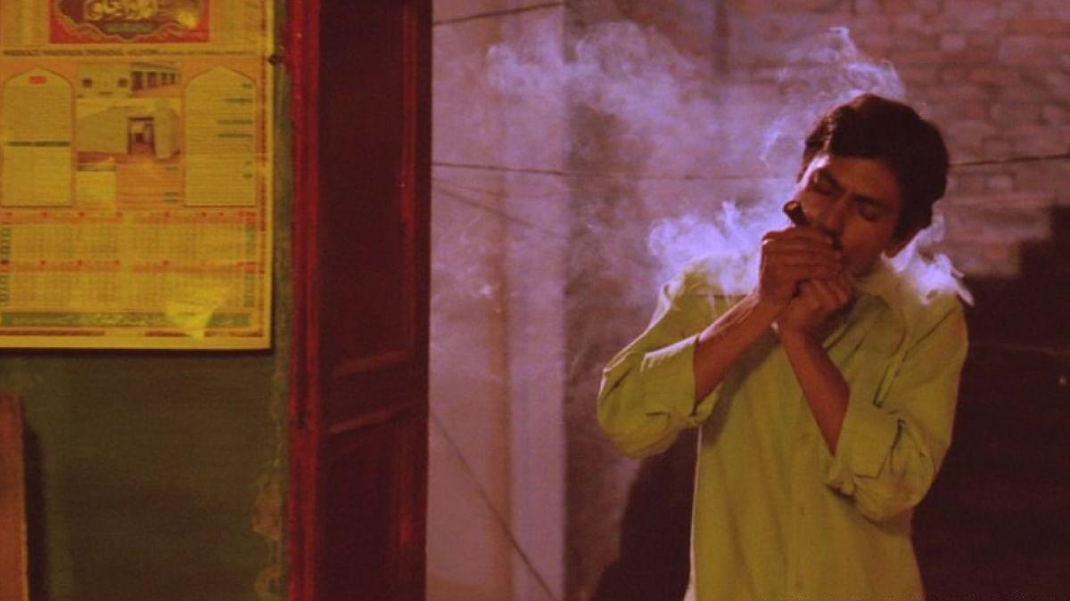 Nawazuddin Siddiqui in a still from <i>Gangs Of Wasseypur</i>.