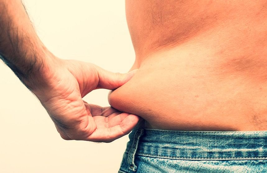 Indians are most likely to have fat accumulations around their waistlines.