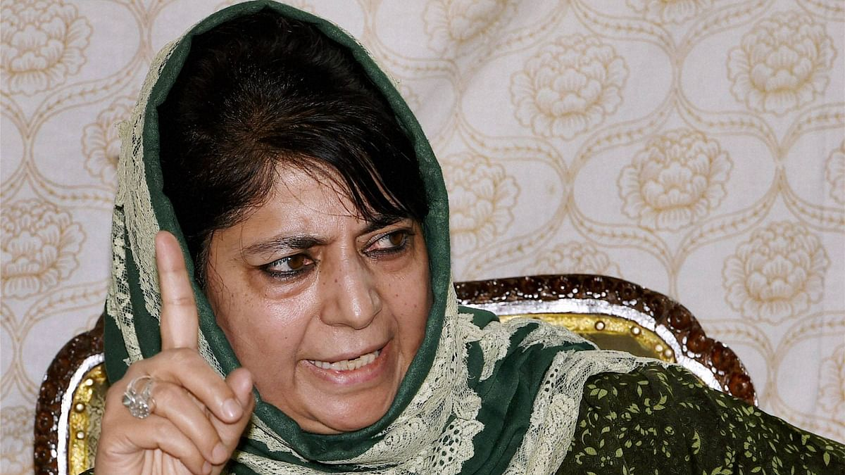 I've Been Placed Under House Arrest, False Claims of Normalcy: Mehbooba Mufti