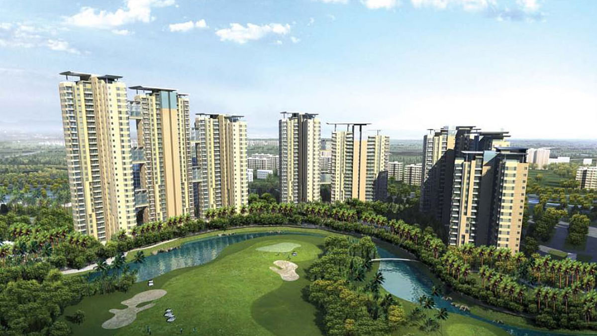 Proposed elevation plan of Unitech's project Burgundy in Sector 96, Noida. Image for representation.