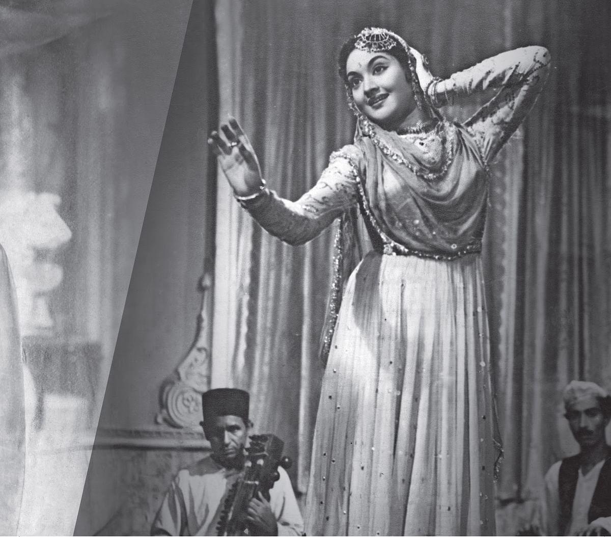 Vyjayanthimala played Chandramukhi in Bimal Roy's <i>Devdas</i>.
