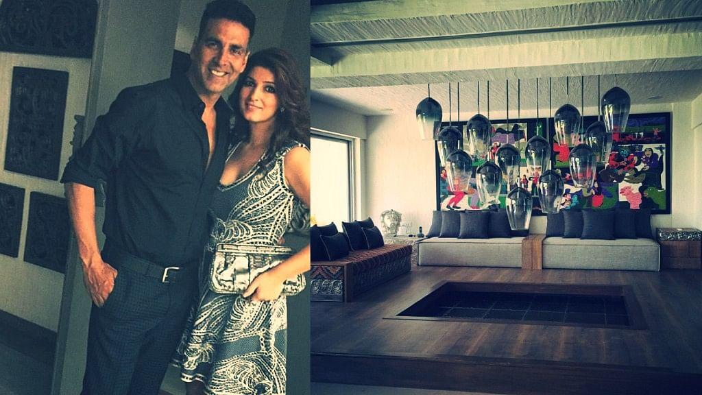 "Here are few unseen pics from inside Akshay Kumar and Twinkle Khanna's Juhu home (Photo Courtesy: <a href=""https://www.instagram.com/twinklerkhanna/?hl=en"">Instagram/@TwinkleKhanna</a>)"