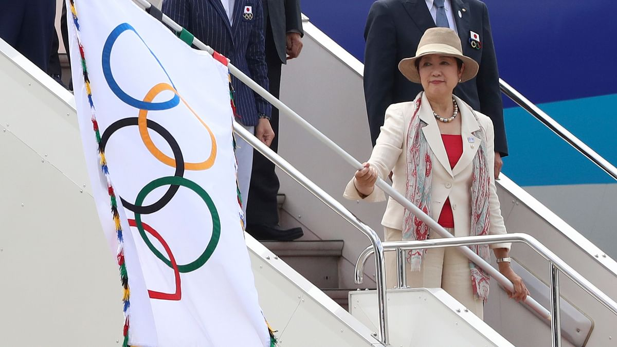 Japan Promises to Host Best Games Yet as Olympic Flag Arrives