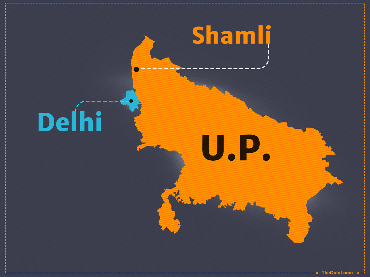 Shamli is only a few hundred kilometers away from the seat of the BJP-led Central government. (Photo: Hardeep Singh/<b>The Quint</b>)