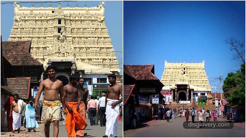 "Sri Padmanabhaswamy Temple. (Photo Courtesy: <a href=""http://disgiovery.com/misteri-harta-karun-kuil-sri-padmanabhaswamy/"">disgiovery.com</a>)"