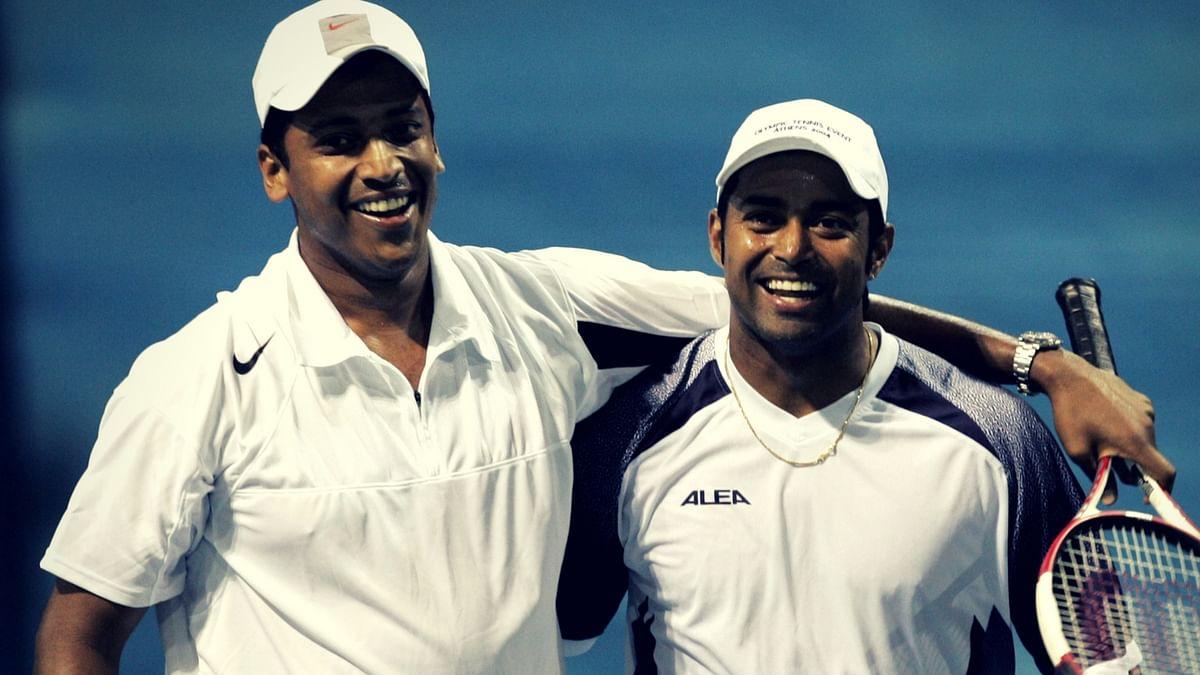 Mahesh Bhupathi (L) and Leander Paes (R). (Photo: Reuters)