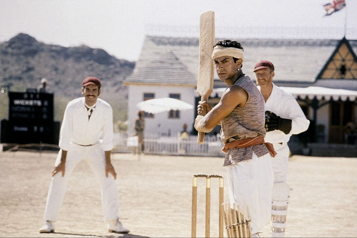 In <i>Lagaan</i>, villagers played cricket against the British rulers to protest the increase in taxes (Photo: UTV Pictures)
