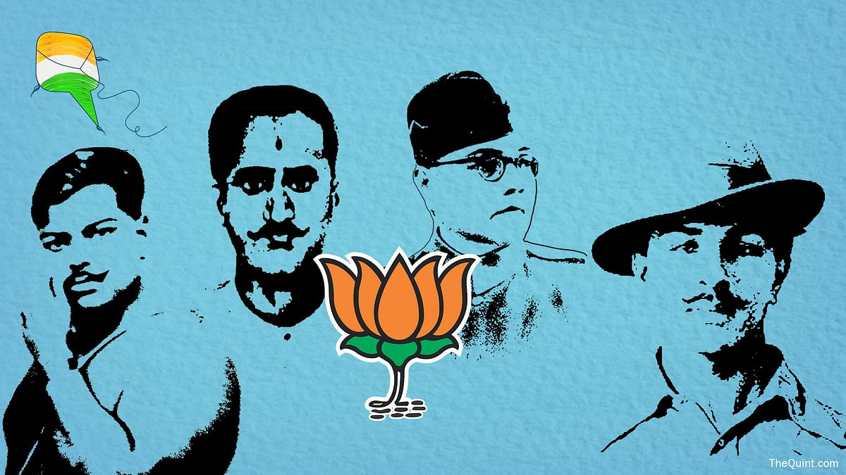 Reclaiming the Freedom Fighters' Past Won't Take the BJP Very Far