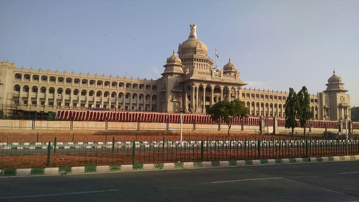 The Vidhan Soudha, Karnataka's Seat of Power.