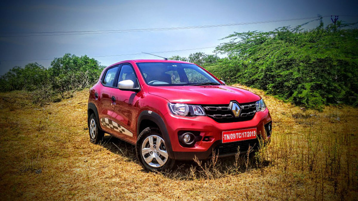 """Renault Kwid 1.0-litre. (Photo Courtesy: <a href=""""https://www.motorscribes.com/Articles/we-review-the-renault-kwid1-0-sce-and-it-just-might-be-the-perfect-purchase-this-festive-season"""">Motorscribes</a>)"""