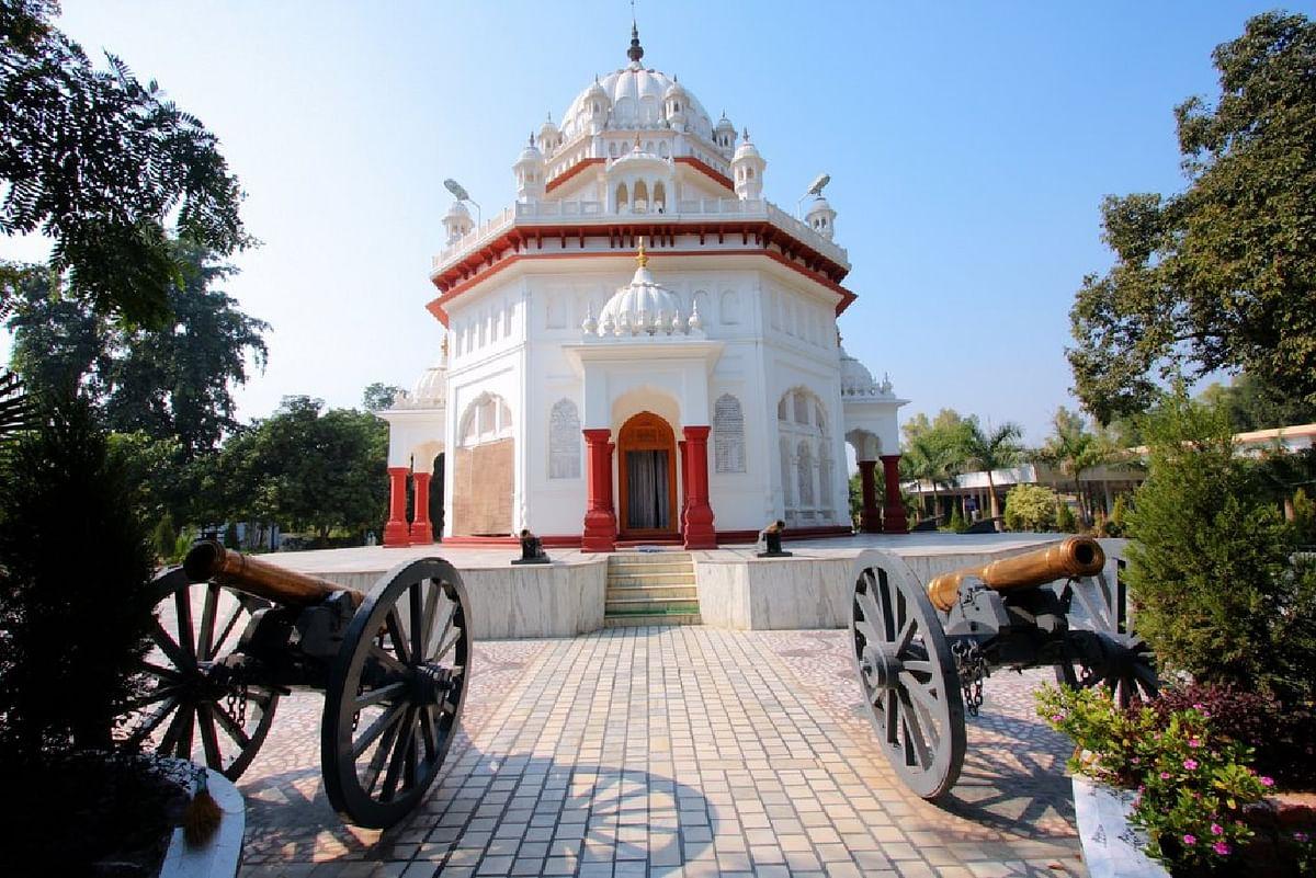 Saragarhi Memorial Gurudwara in Firozpur, Punjab, India.