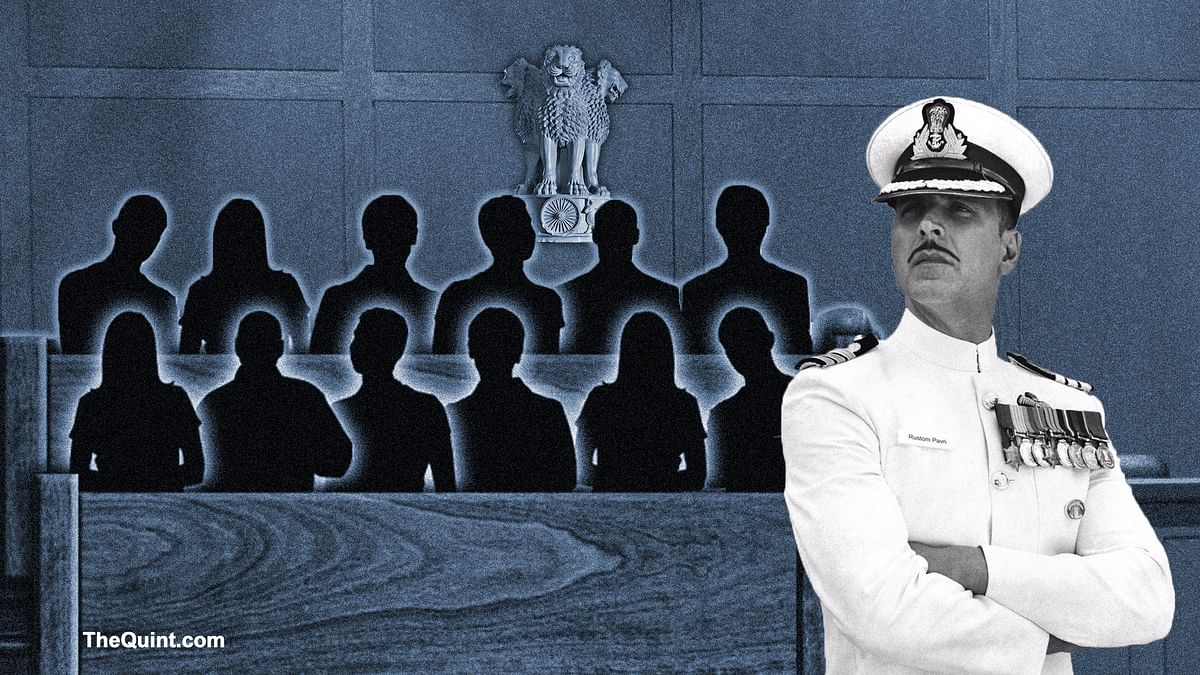 <i>Rustom </i>is said to be based on the real life court case of  naval officer KM Nanavati that changed the face of Indian judicial system. (Photo: Hardeep Singh/The Quint)